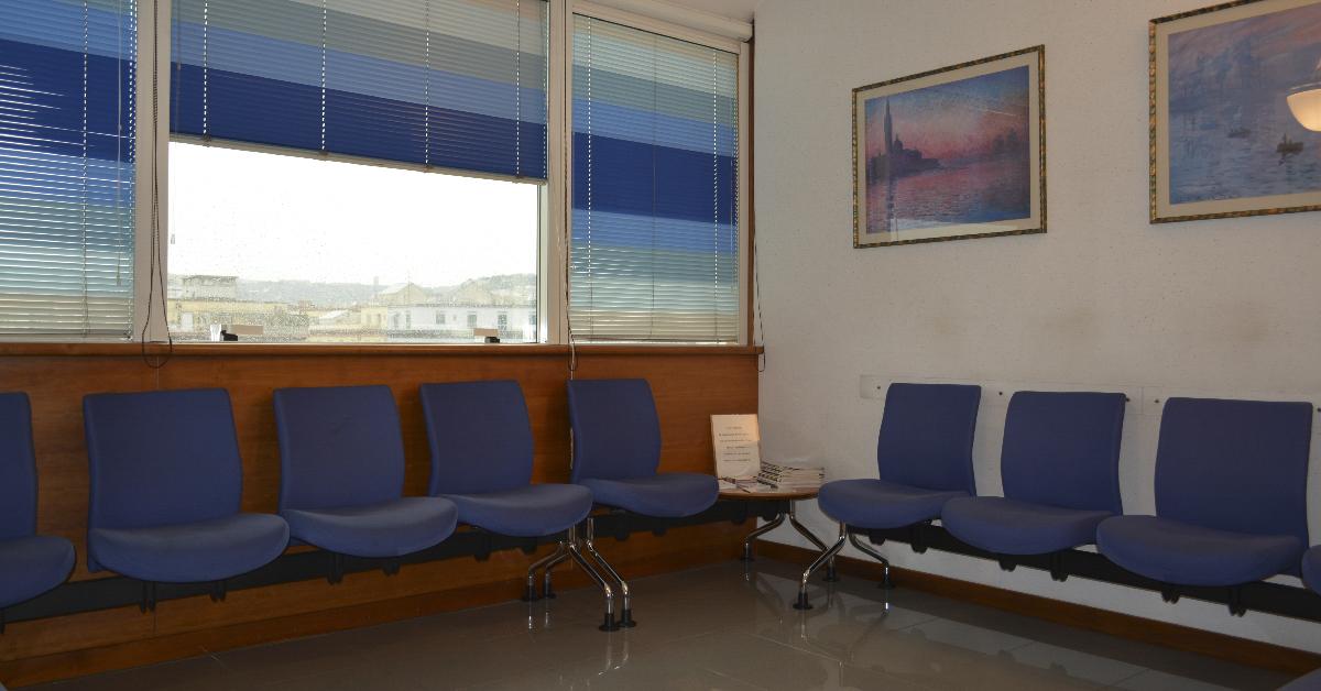 Centro Direzionale - Sala d'attesa