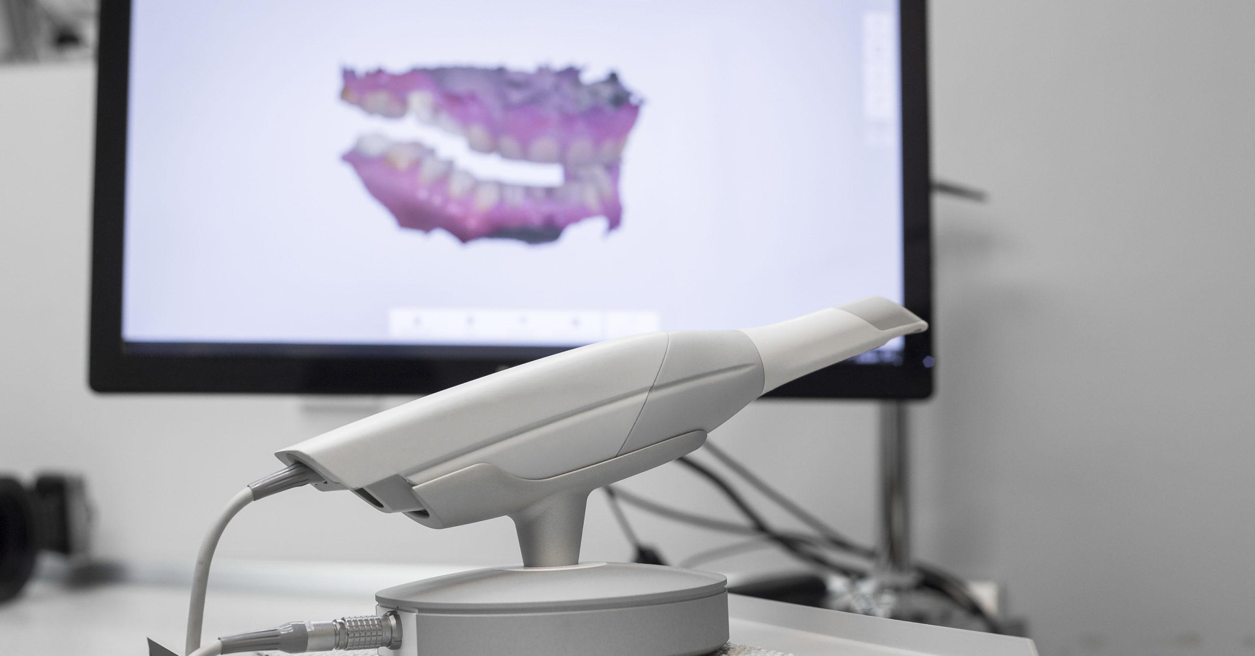 Il nuovo scanner dello studio